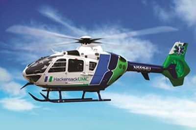 LITTLE EGG HARBOR: Medevac to Transport Self-Inflicted Stab Wound PAtient
