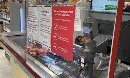 Stop & Shop Installs Barriers at Checkstands