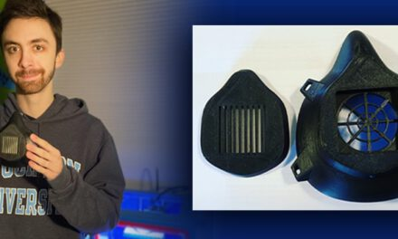 Gavin Rozzi Donates 3D Masks to Healthcare Professionals