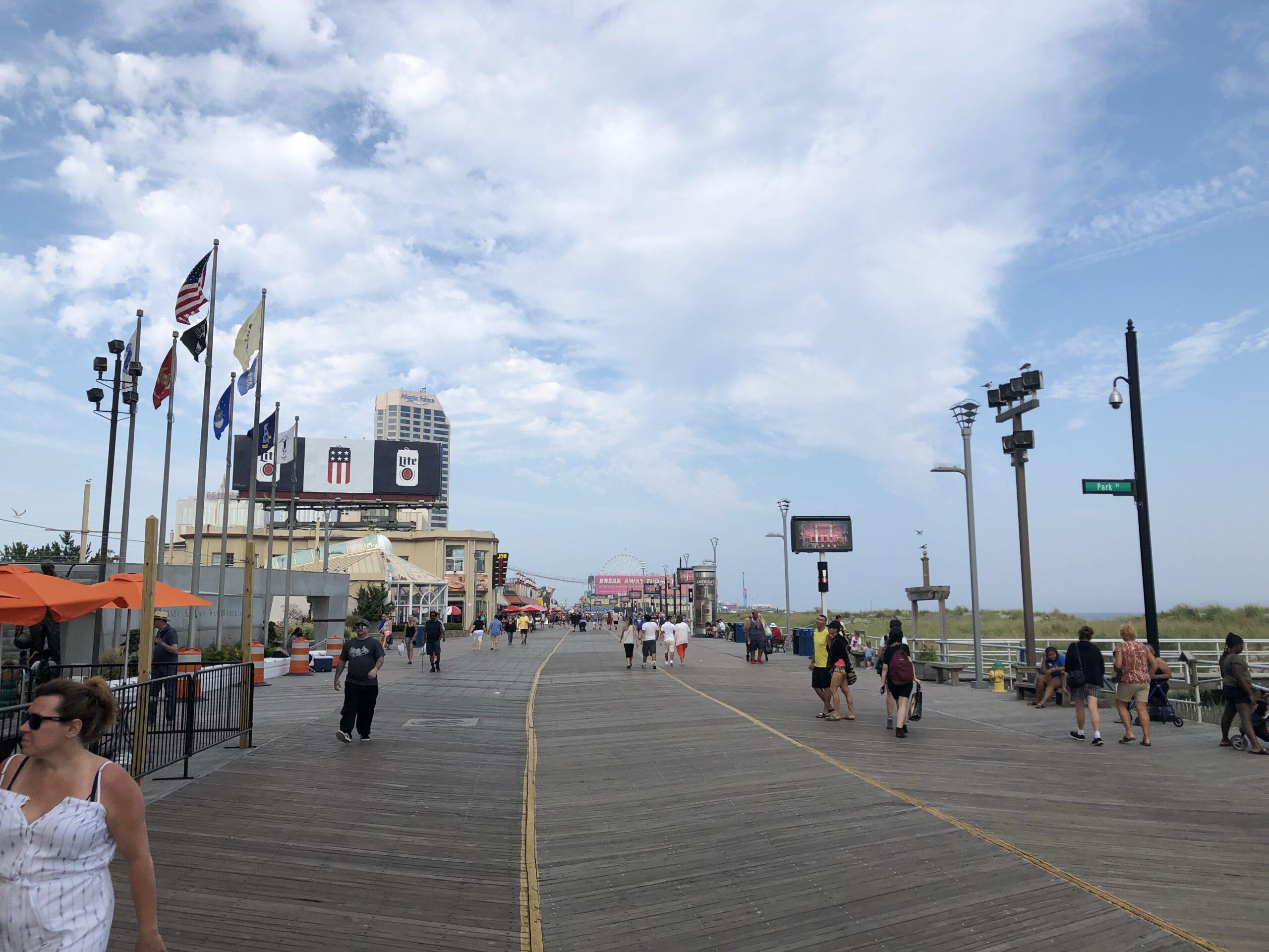 ATLANTIC CITY: Beach & Boardwalk to Remain Open