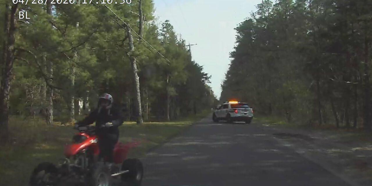 PEMBERTON: Help Identify Quad Driver