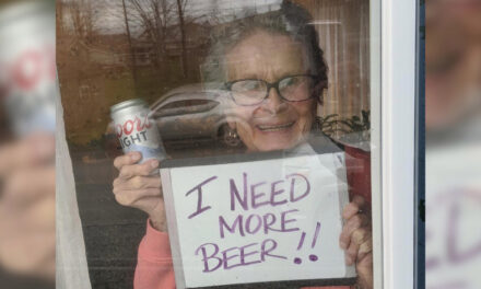"""93 Year Old Olive Veronesi Says """"I Need More Beer"""""""
