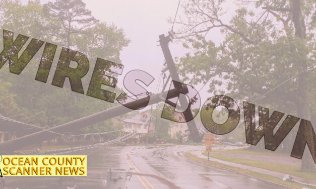 PINE BEACH: wires Down and Arcing