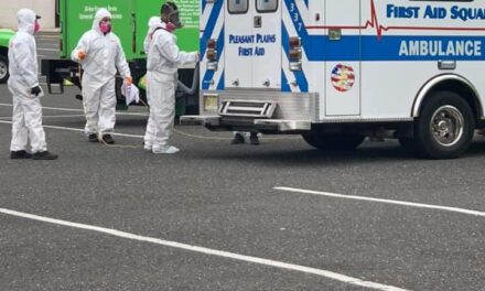 TOMS RIVER: Decontamination Continues for Emergency Vehicles