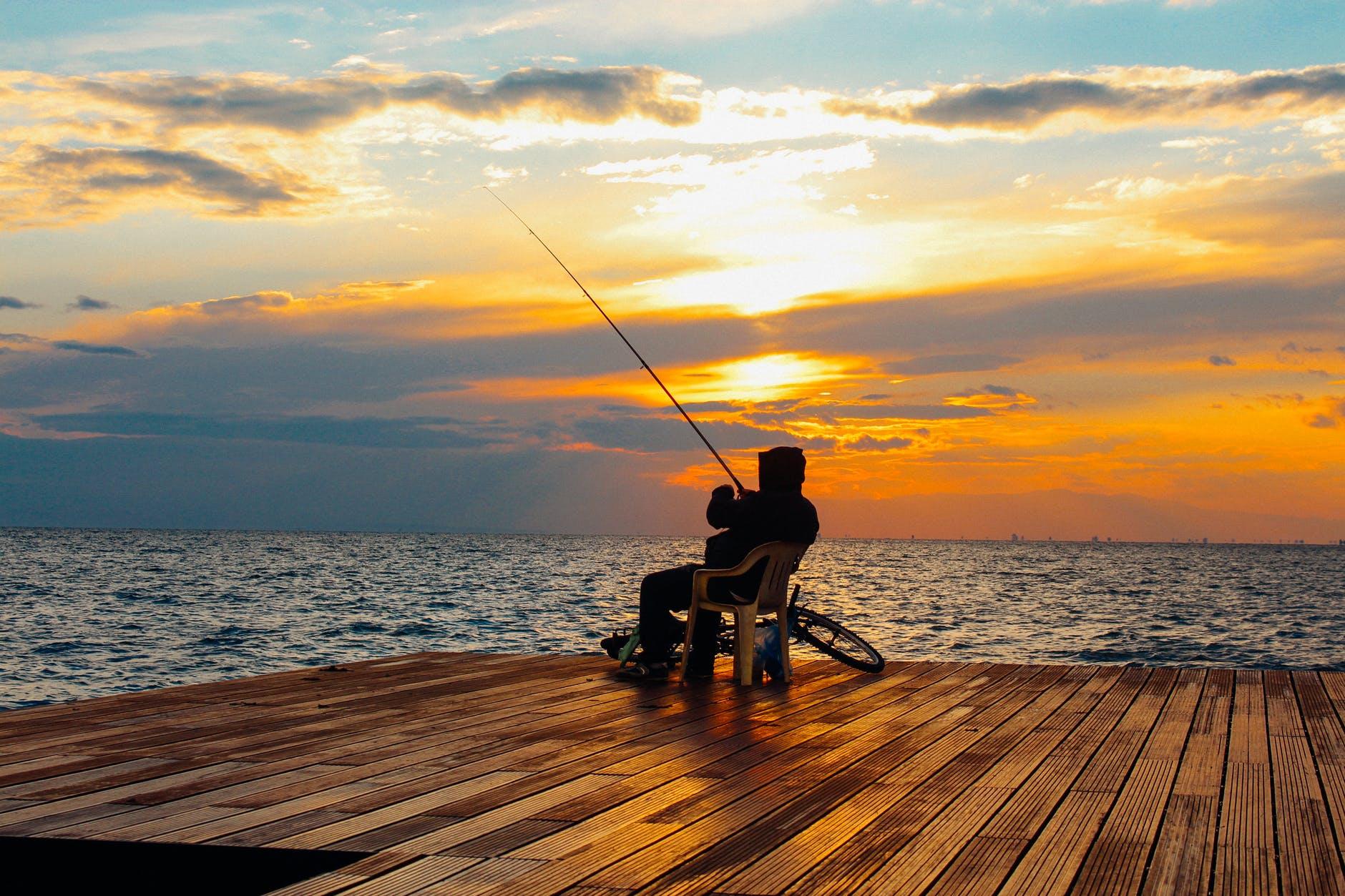 ISLAND HEIGHTS: People Caught Fishing