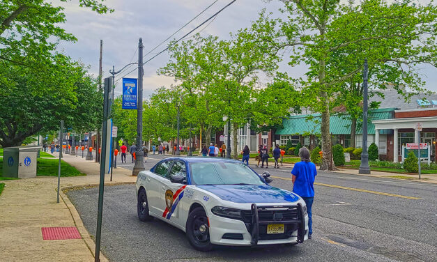 TOMS RIVER: George Floyd Protest Marches Through Downtown