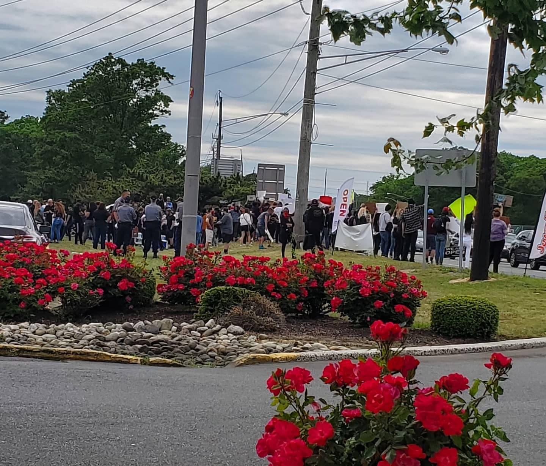 TOMS RIVER: Protests Have Resumed