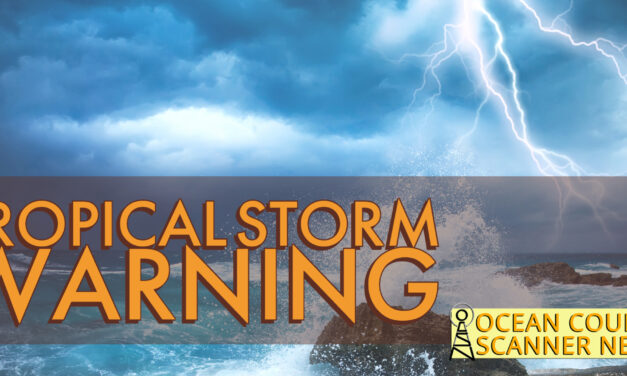 NEW JERSEY: Tropical Storm Warning