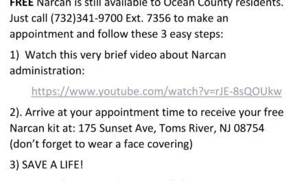 OCPO: Free Narcan Kits Available