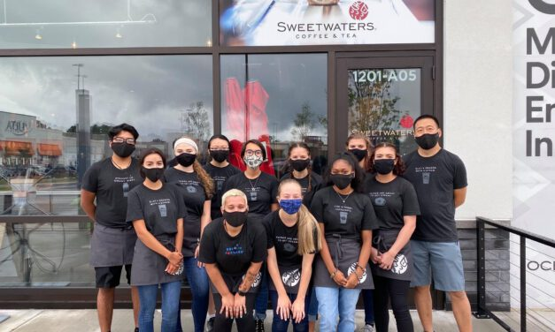 TOMS RIVER: Another Grand Opening Today! Sweetwaters Coffee & Tea
