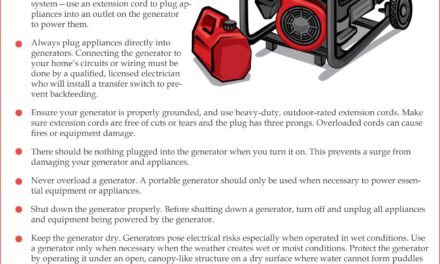 Generator Safety Tips for Next Storm!