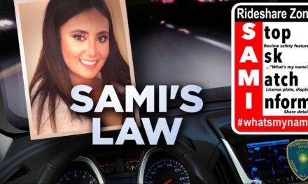 OCPO Reminds Ride-Sharing Users of Sami's Law