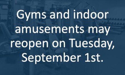 Murphy's Plan for Gyms & Indoor Amusements