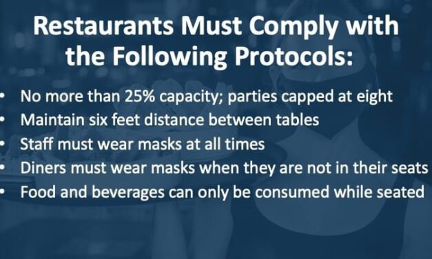 Murphy Expands on Rules for Indoor Dining