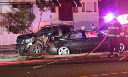 Seaside Park: Motor Vehicle Accident
