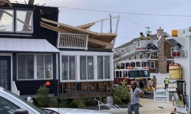 LBI: Bayview Ave Fire/Structure Collapse (recap)