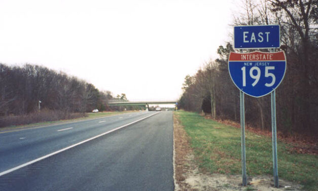 NJSP Searching for Erratic Driver from New York on I-195