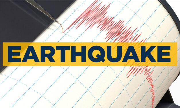 TUCKERTON EARTHQUAKE