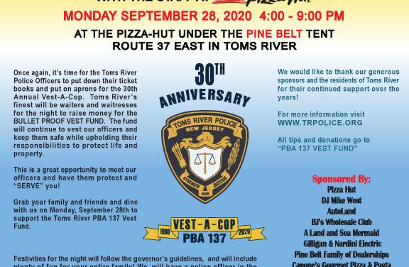 TOMS RIVER: Vest-A-Cop Tonight!