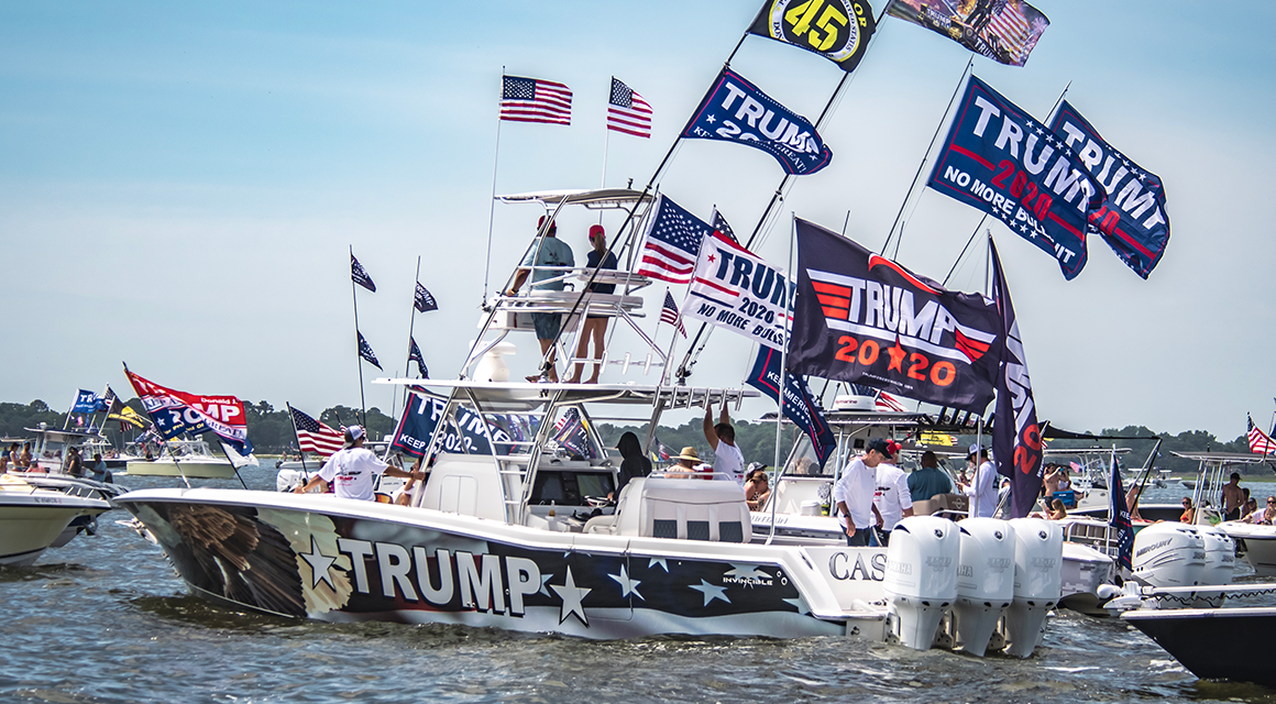 STAFFORD: Saturday Boat Parade for Law Enforcement, Veterans & Trump Planned to Shatter Records