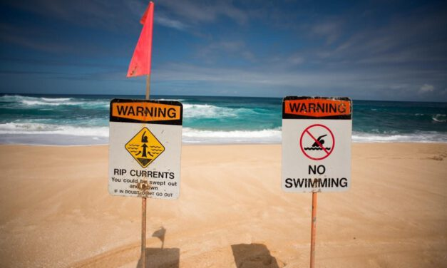 Dangerous Rip Currents: Stay Out of Ocean