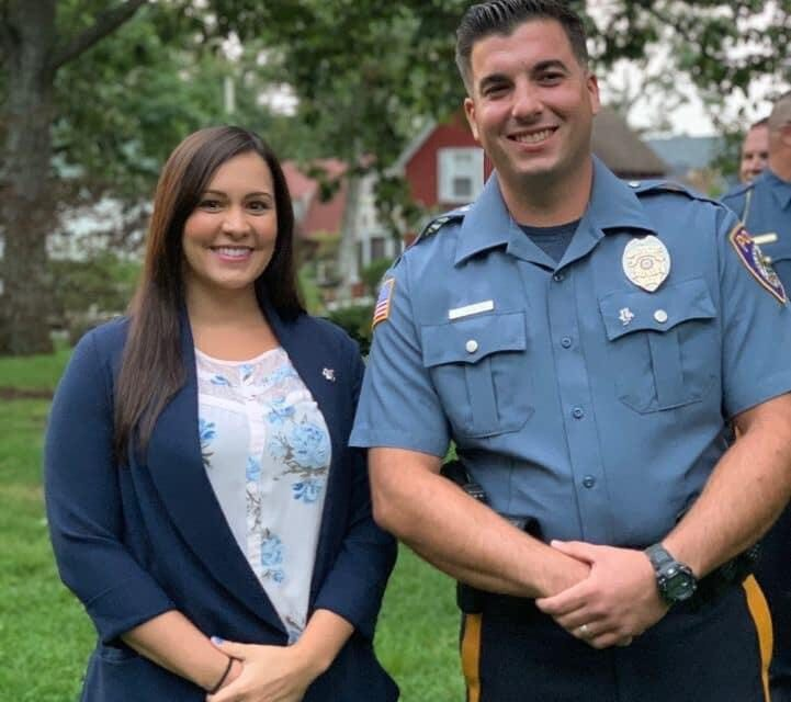ISLAND HEIGHTS: Officers Honored with Stork Pin