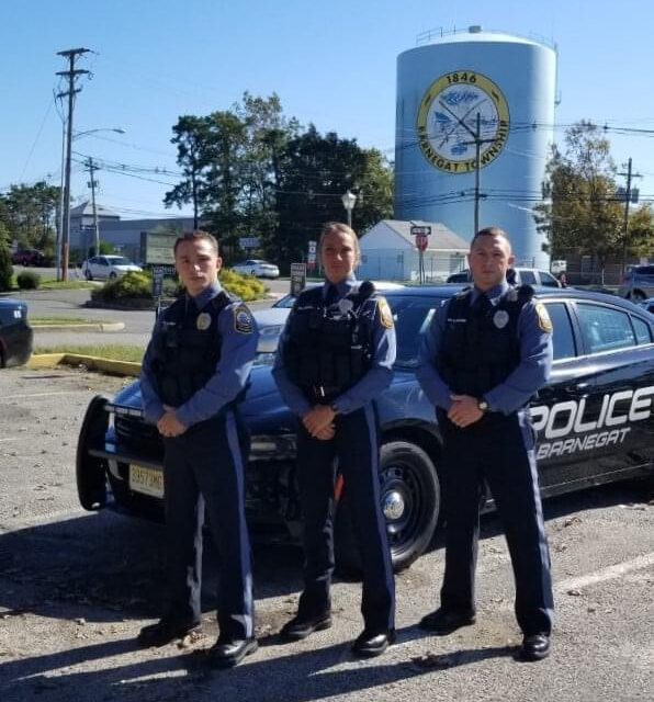 BARNEGAT: Police Welcome Three New Officers