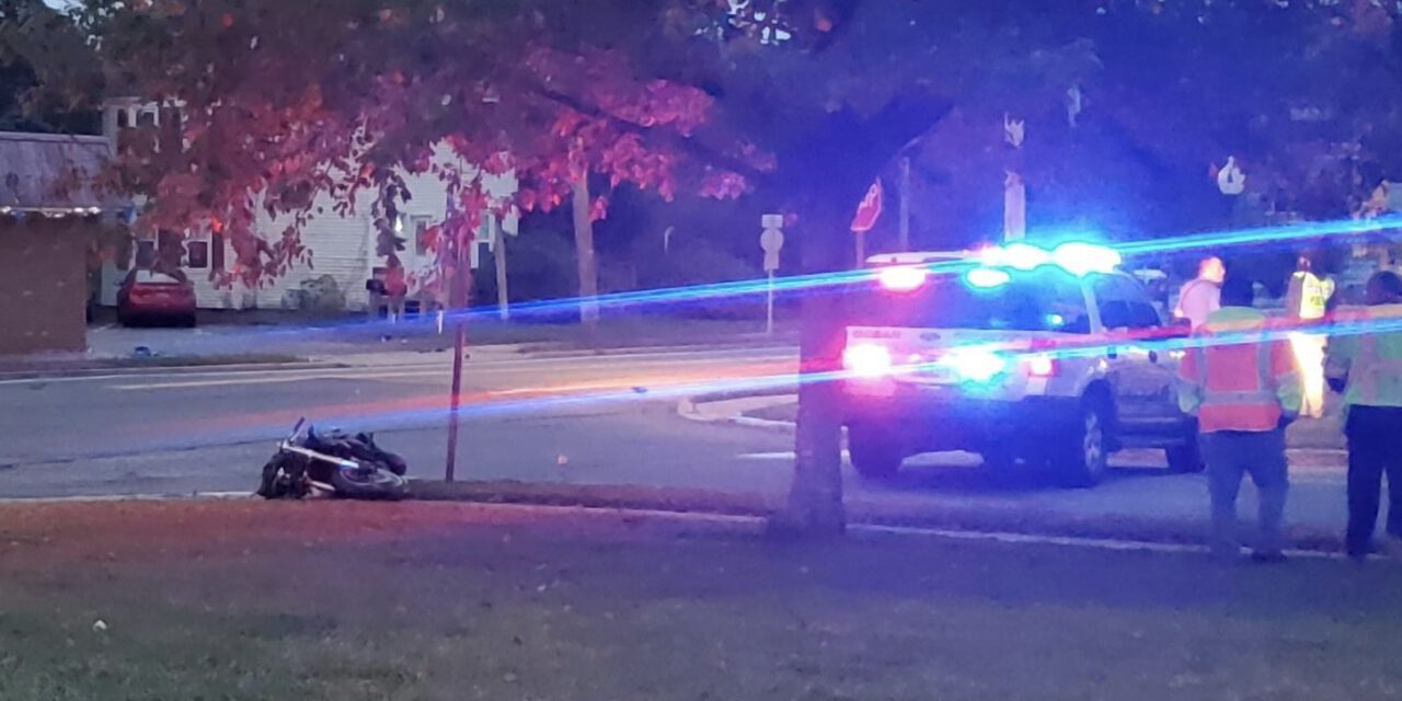 LACEY: Motorcycle Crash Turns Fatal