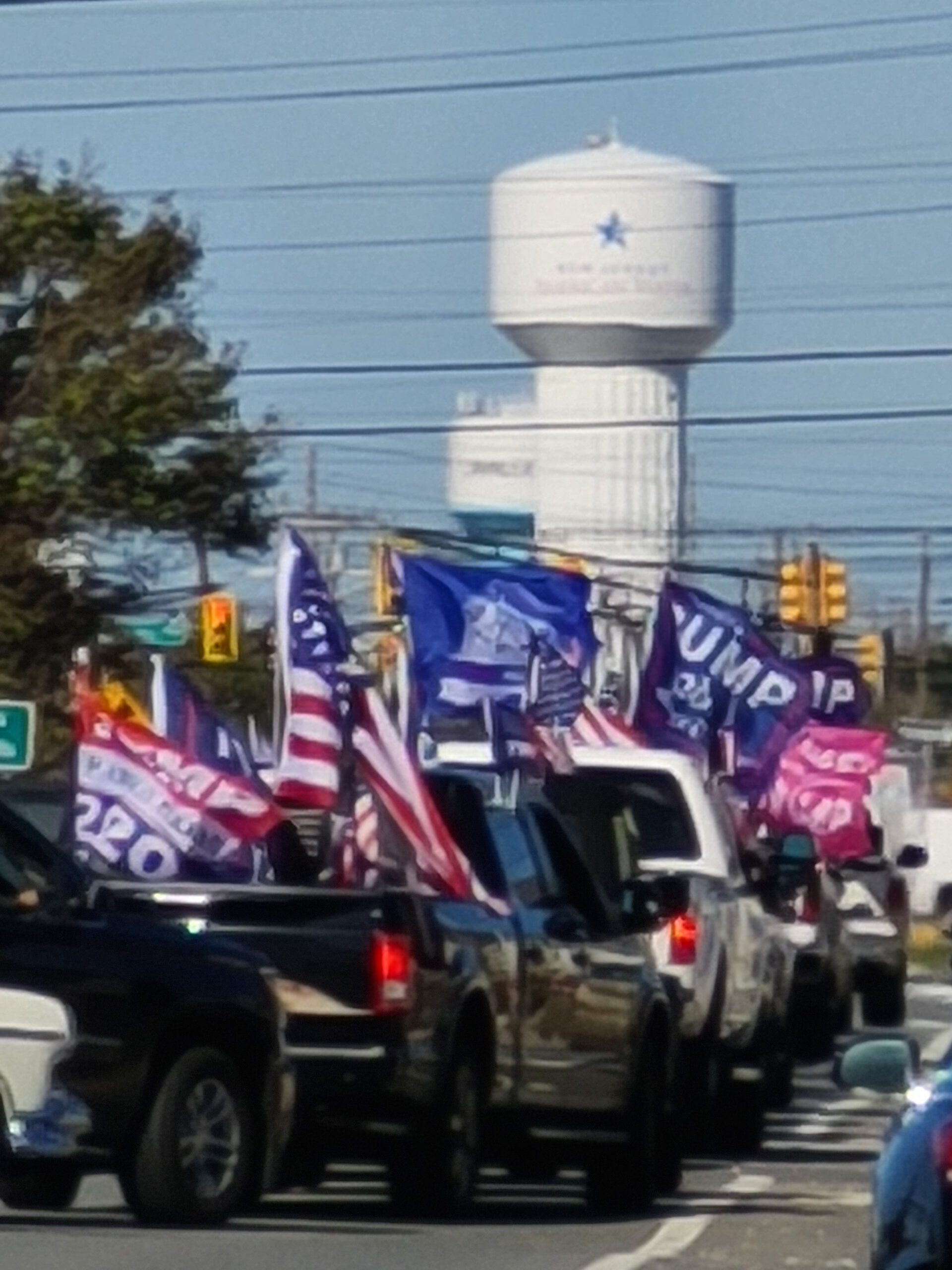 TRUMP RALLY COMES TO SEASIDE HEIGHTS