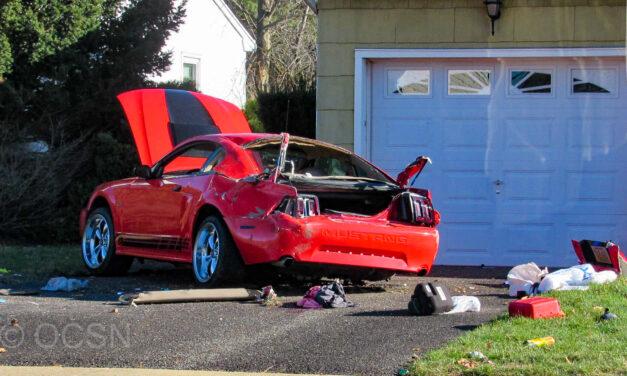 Berkley (Holiday City): Car vs Pedestrian Vs House (Update)