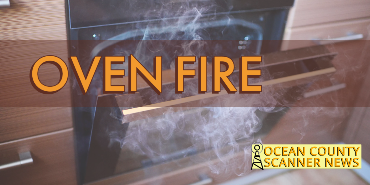 LAKEWOOD: Oven Fire – Flames Showing