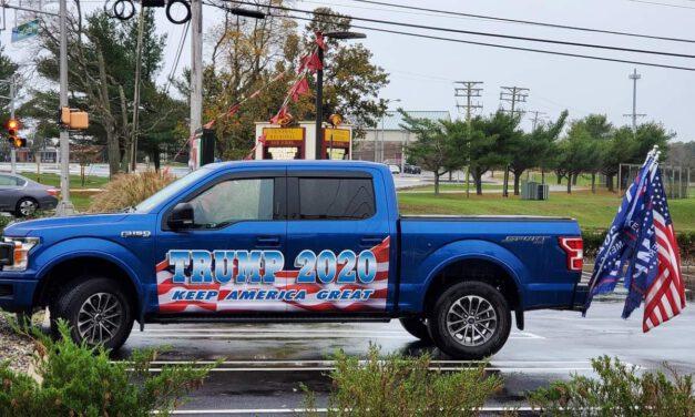 BAYVILLE: Trump Parade Fills Veteran's Park