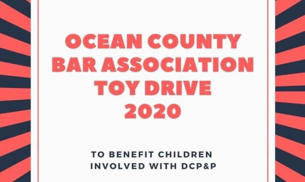 Ocean County Bar Association Hosts Toy Drive for Kids in Custody of DCP&P
