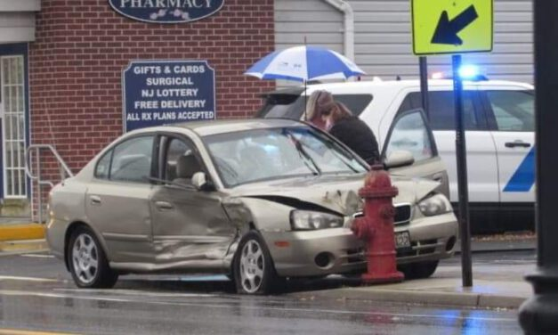 FARMINGDALE: Car vs. Fire Hydrant