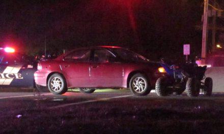 MANCHESTER: Car vs. ATV Crash Injures Rider