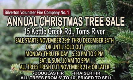 TOMS RIVER: Silverton VFD Holds Annual Christmas Tree Fundraiser