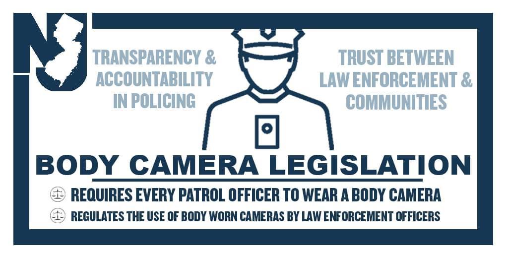 Murphy Enacts Body Camera Legislation for NJ Cops