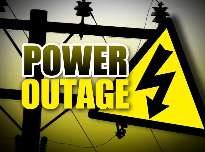 BRICK: Power Outages Around Town
