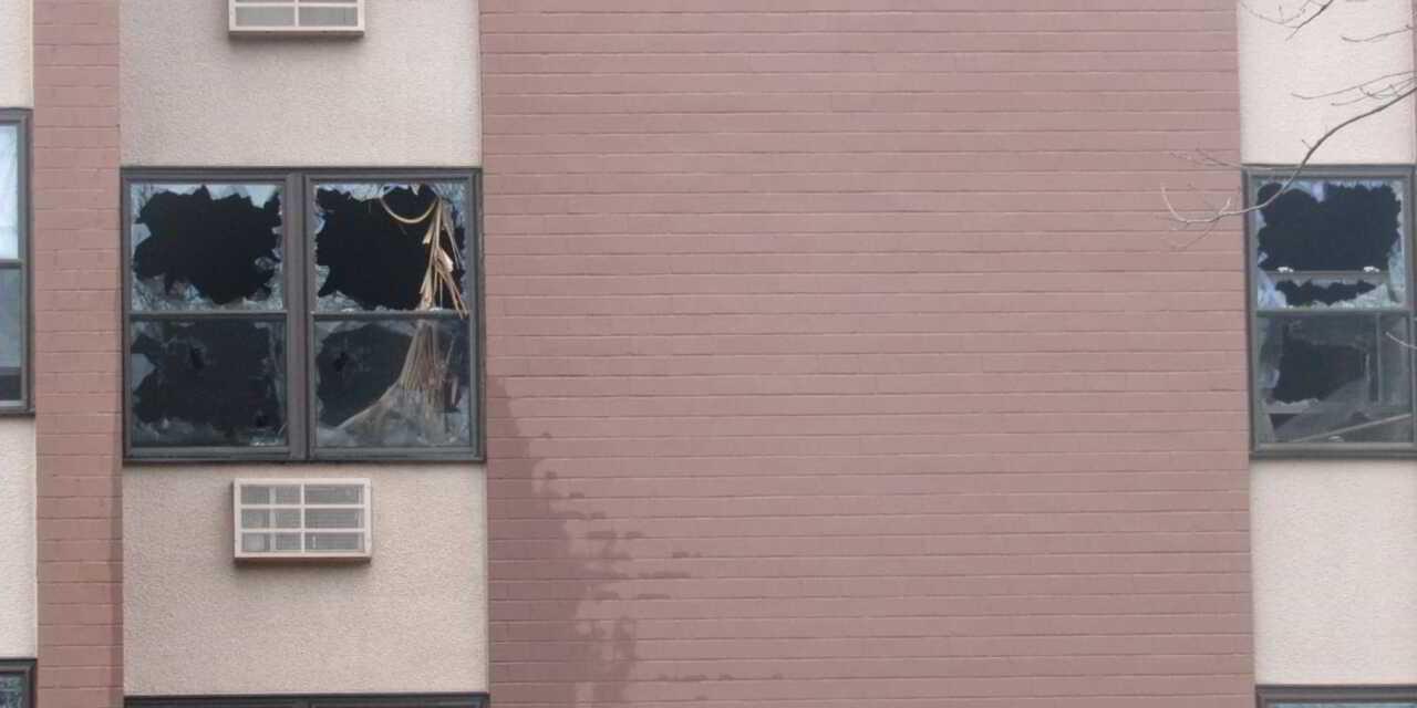 BRICK: Three Alarm Fire @ George Conway Apartments