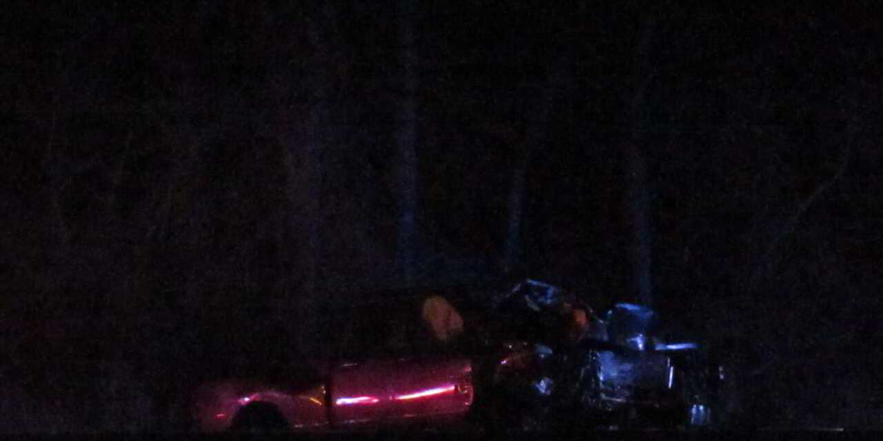 LAKEWOOD: Pictures of NJ 70 @ Shorrock- Crash Takes Down Pole and Wires