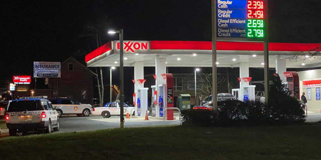 TOMS RIVER: Gas Station Robbery