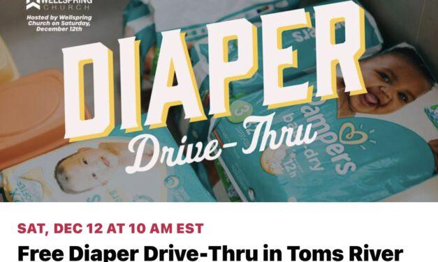 TOMS RIVER: Wellspring Church Hosts FREE Diaper Event!