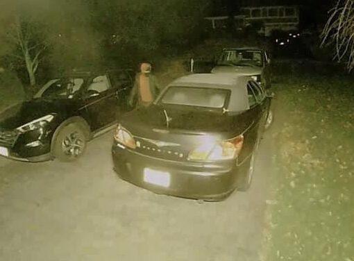 TOMS RIVER: Burglar Hits Unlocked Vehicles around Georgetown- Steals Cash