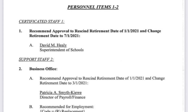 TOMS RIVER: Schools Superintendent Healy Doesn't Get Retirement Extended