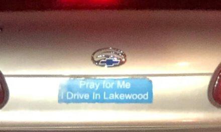 LAKEWOOD: MVA WITH CAR VS FENCE