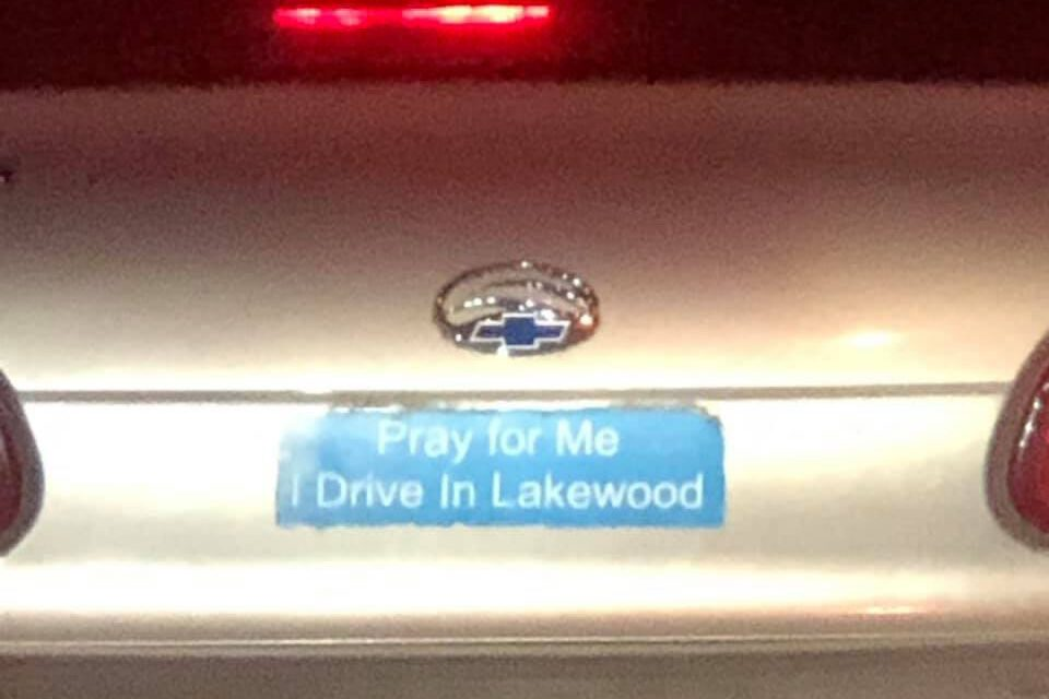 LAKEWOOD: Wrong-Way Driver on Route 70