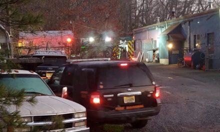 BERKELEY: Early Vehicle Fire Behind Bayville Repair Shop