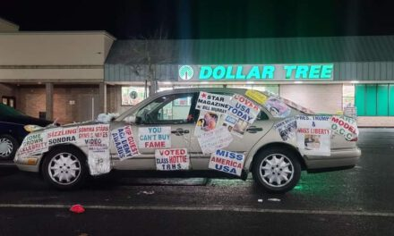 TOMS RIVER: Miss Liberty Makes Appearance at Local Dollar Store
