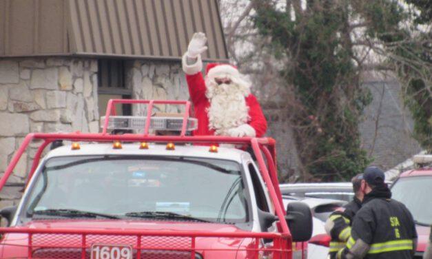 BEACHWOOD: Santa & Company are Spreading Cheer to Good Boys and Girls Today