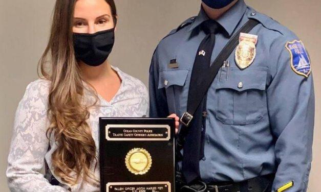 OCPO: Manchester Officer Receives Jason Marles DWI Award